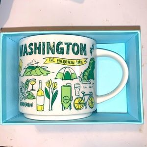 Washington Starbucks mug